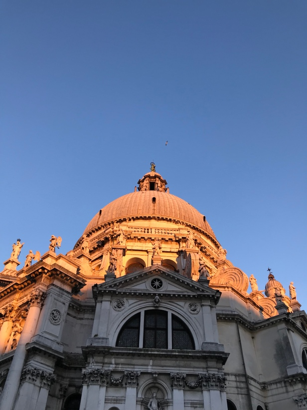 Sunset Reflections at Basilica di Santa Maria della Salute