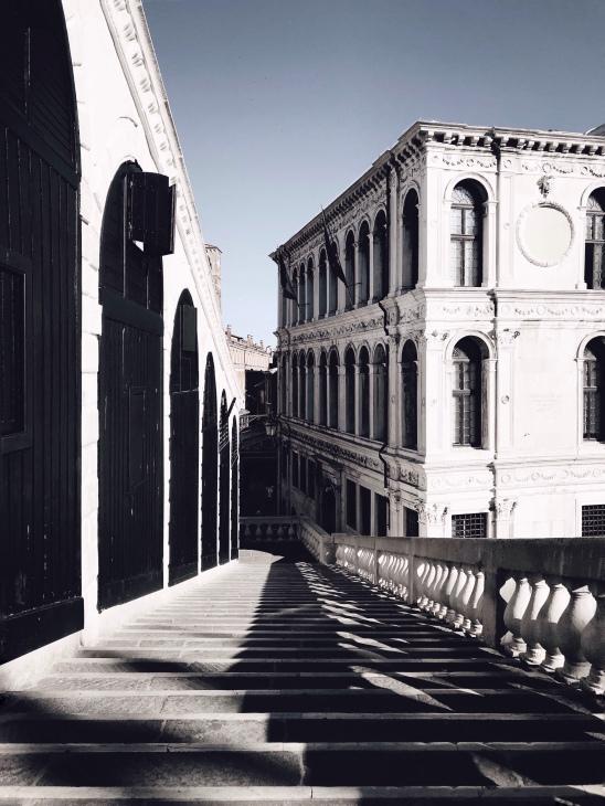 Rialto Bridge in The Morning..